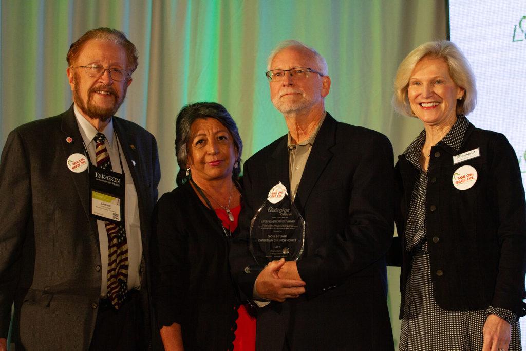 Don Stump Receives Award